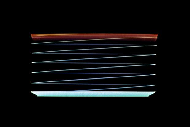 Morte dunha televisión, do artista Stephan Tillmans