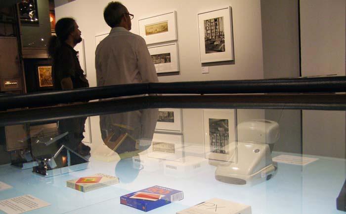 Exposición Polaroids no Westlicht Museum de Viena