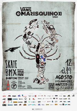 O Marisquiño: deporte, cultura urbana e música