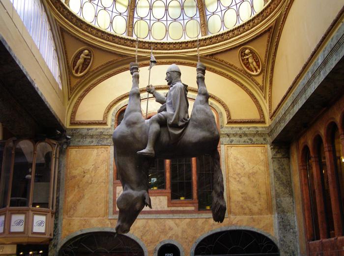 Cabalo no Lucerna, David Černý