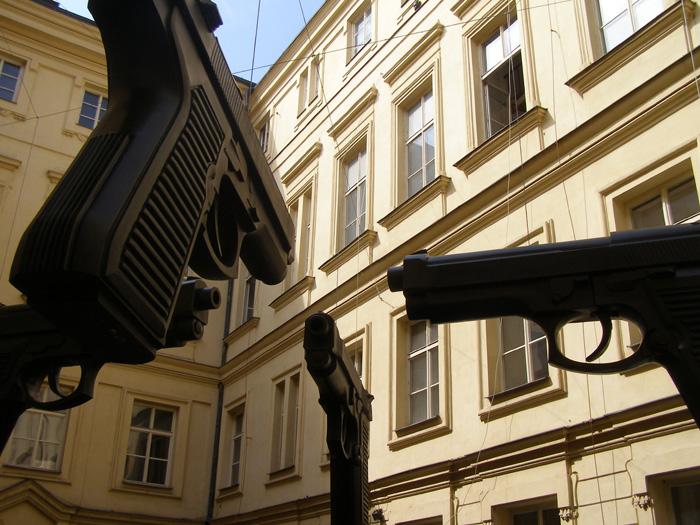 Pistolas de David Cerny