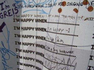 I'm happy no Sziget 2011