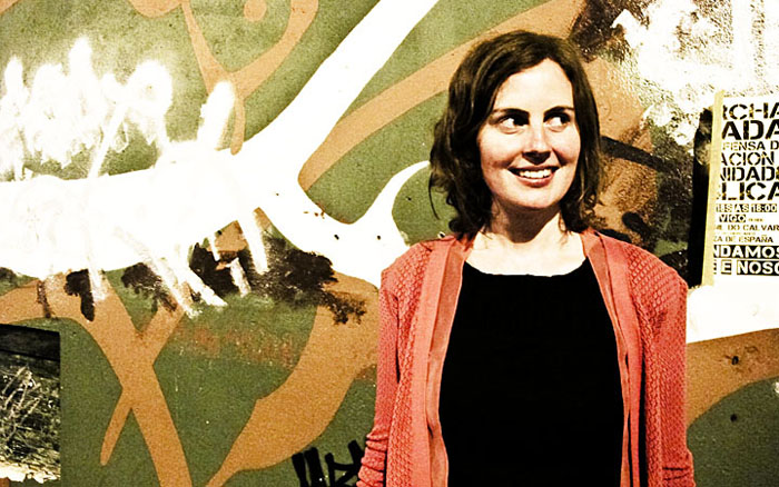 Kathryn Calder en Vigo.