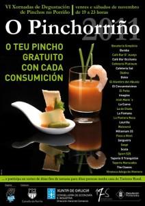Pinchorriño: tapas gratis en Porriño