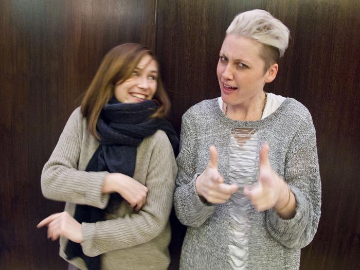 Mina Tindle e Sarah Jaffe