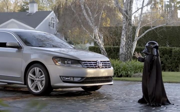 os mellores anuncios do 2011, The Force Volkswagen