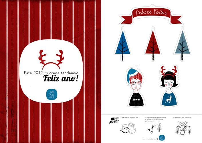 Postal Paper-Toy de Nuria Díez e Disquecool