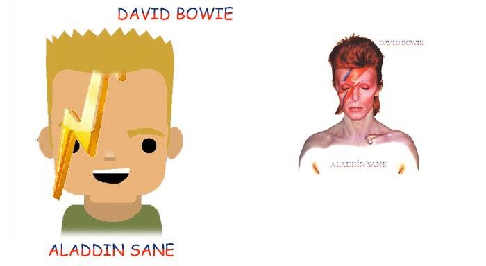 David Bowie  Clip Art