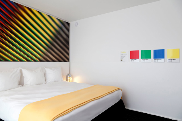 Pantone Hotel habitacion