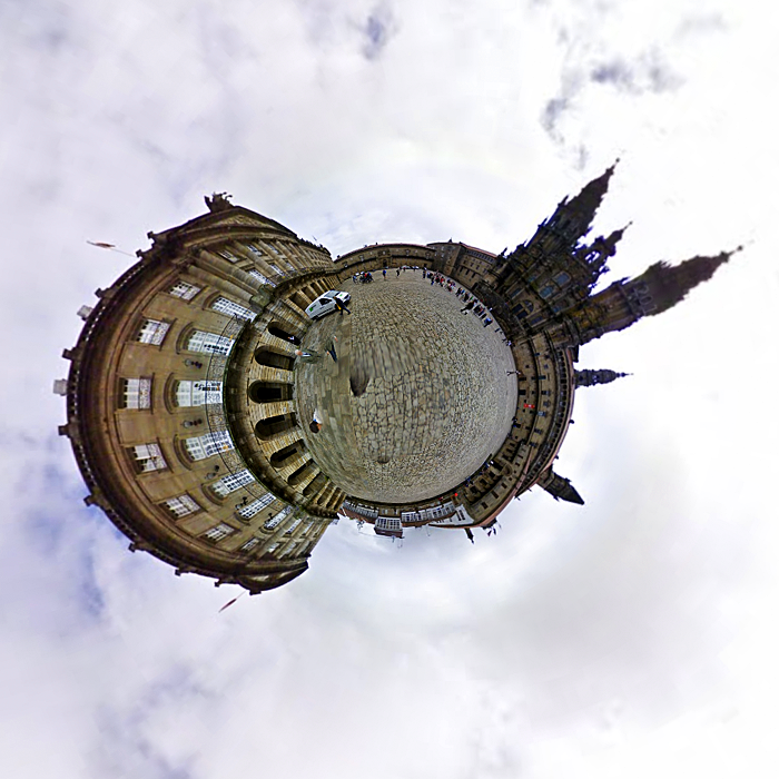Miniplaneta Santiago de Compostela