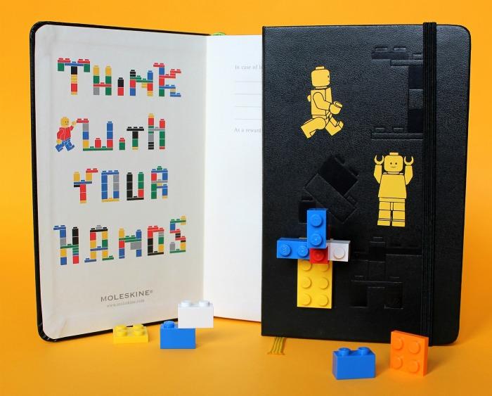 Moleskine de Lego