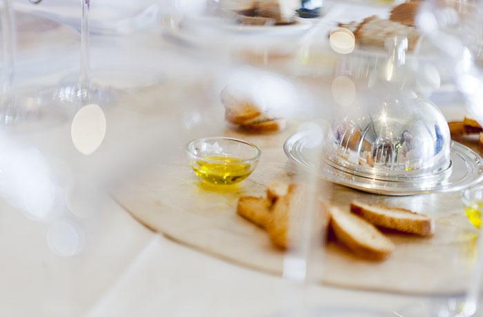 Degustación de aceites, sales e manteigas artesanas. Silabario