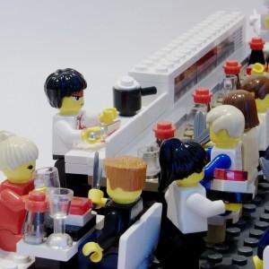 Sushi Bar de Lego