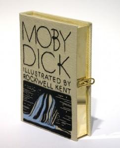 Bolso libro de Moby Dick
