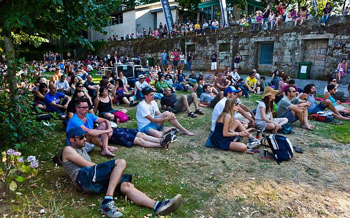 Festival Sinsal 2011, na illa de San Simón