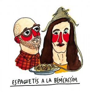 espaguetis al a benicassim cocina indie