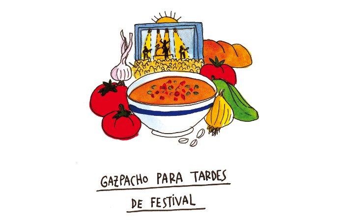 Gazpacho, de Cocina indie
