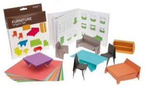 Origami set mobles
