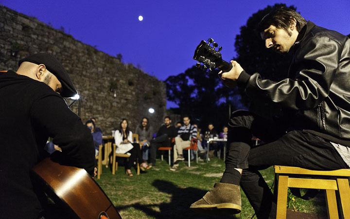 Terrazeando, ciclo de concertos en terrazas