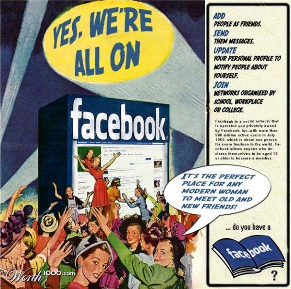 Anuncio retro facebook