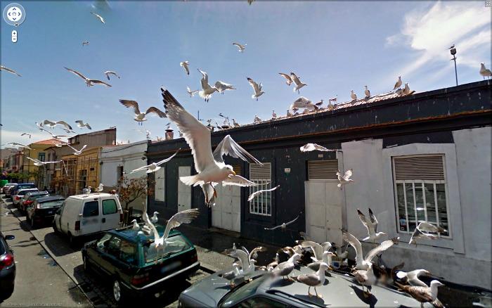 google street view art, jon rafman