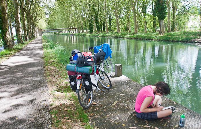 No canal lateral de la Garonne. #Disquerreto12