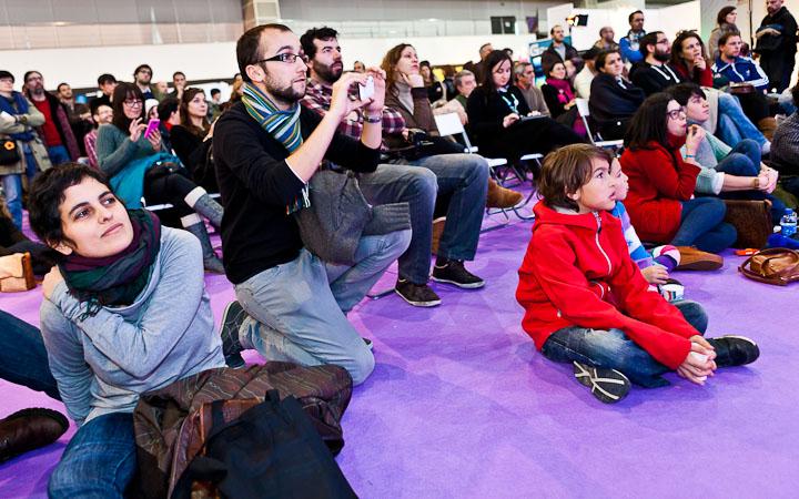 Público no Off Culturgal organizado por Disquecool