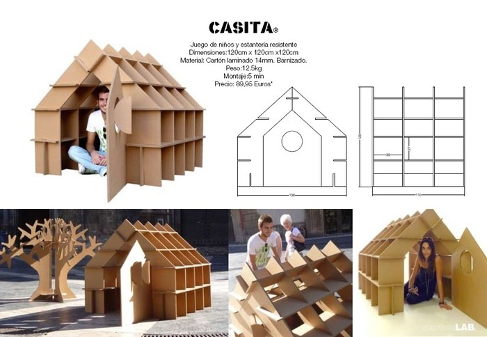 Casita de CartonLab