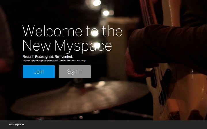 novo myspace