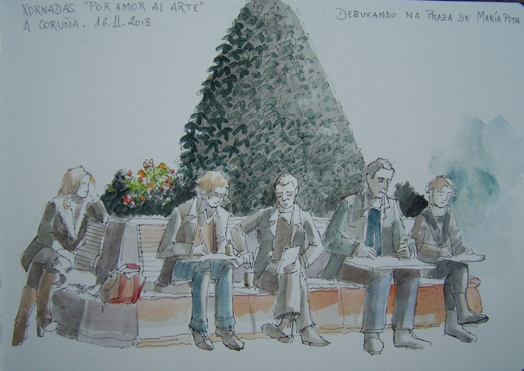 Urban Sketchers - Eduardo Baamondef