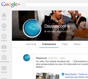 Disquecool - Google+