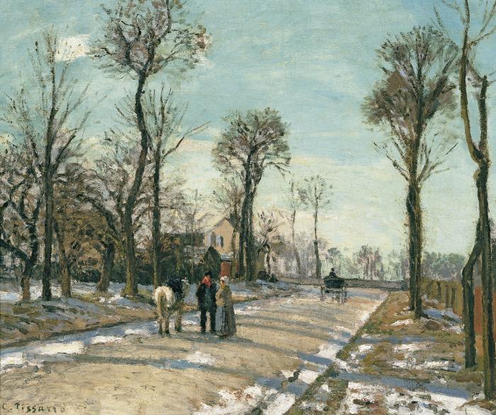 Versalles, Camille Pissarro - Colección Carmen Thyssen