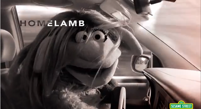 Sesame Street- Homelamb