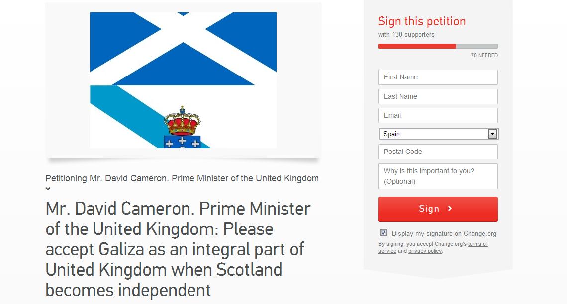 Como Galicia podería formar parte do Reino Unido