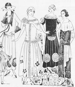 mulleres modernas nunha ilustración do Galicia