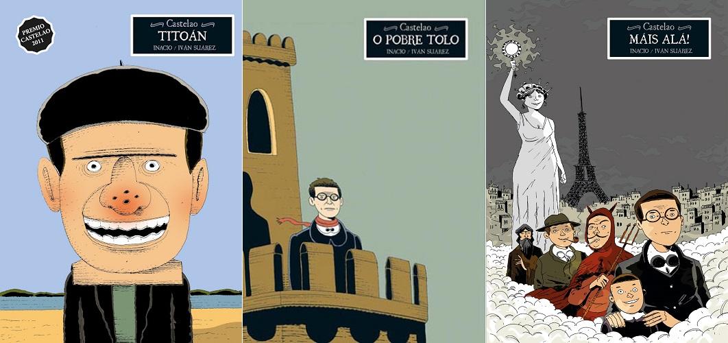 Vida de Castelao en cómic