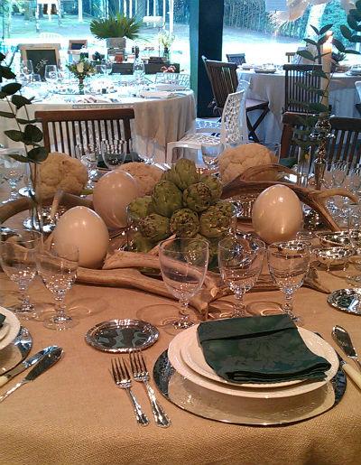 mesa alcachofa