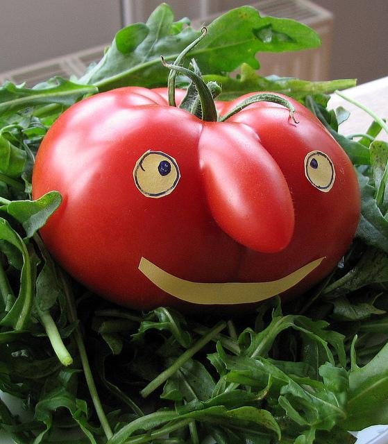 O tomate é para confundir