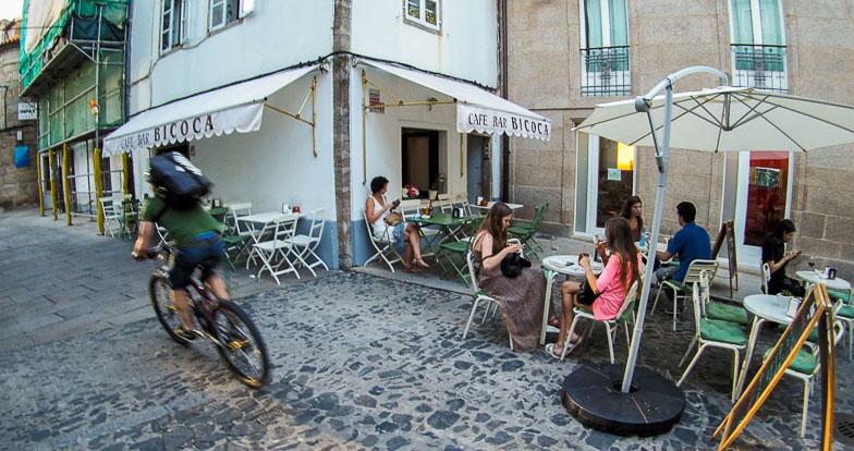 Terrazas de Santiago de Compostela | Disquecool