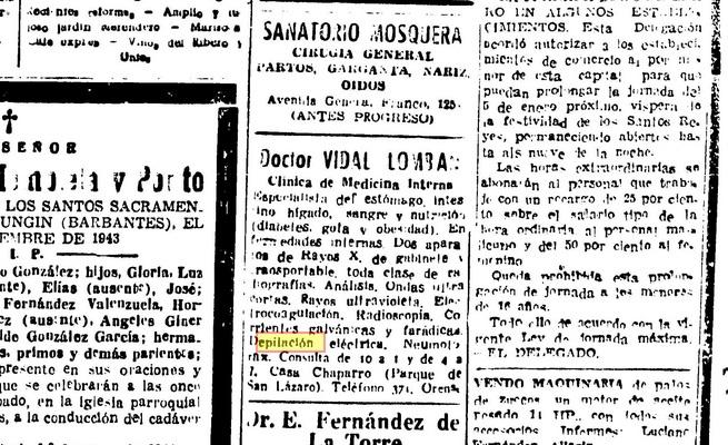 El pueblo gallego, 1 de xaneiro de 1944