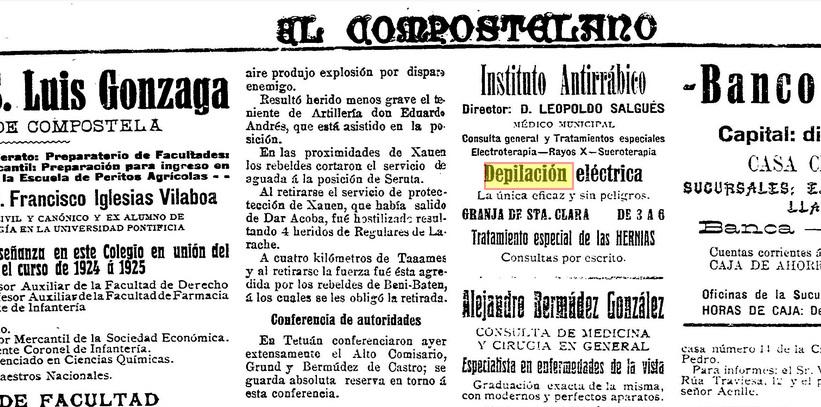 El Compostelano, 16 de agosto de 1924