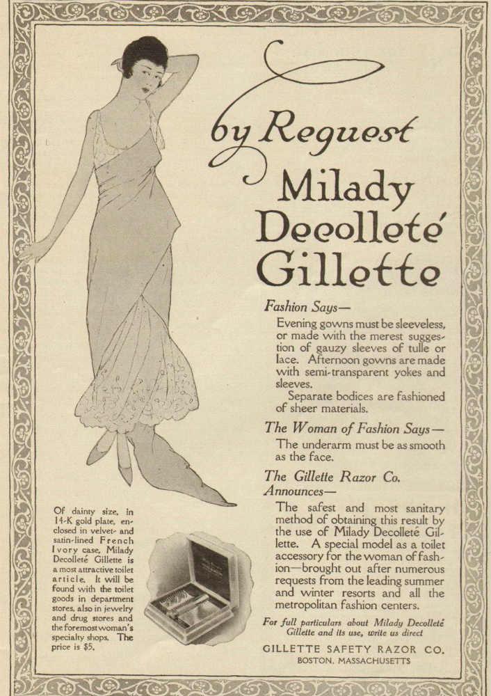 milady decollete