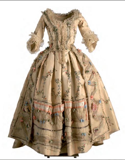 Así vestían as mulleres na época na que María Francisca Isla dictaba as cartas