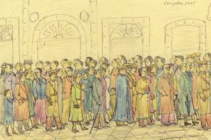 A vida cotiá no Santiago da II República en (riquiñas) ilustracións