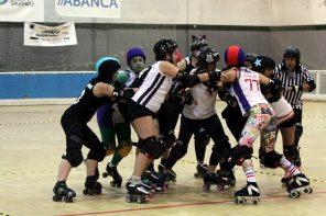 Que é o roller derby? Un deporte que medra sobre rodas