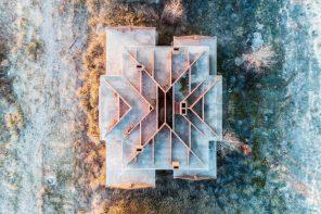 Os cadáveres da burbulla inmobiliaria, a vista de dron