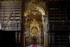 As bibliotecas máis fermosas de Portugal